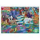 100 Piece Puzzle, Planet Earth