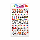Itsy Bitsy Pooches Stickers