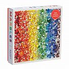 500 Piece Puzzle, Rainbow Marbles