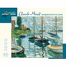 1000 Piece Puzzle, Sailboats on the Seine
