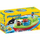 Playmobil 123 Sailor with Fishing Boat