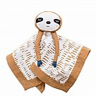 Lulujo Muslin Sloth Lovey