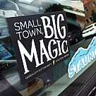 Exclusive Sticker: Small Town, Big Magic