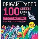 "Origami Paper, Tie Dye (100 6"" sheets)"