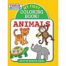 Toddler Time Coloring Book My First Book of Animals