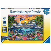 100 Piece Puzzle, Tropical Paradise