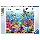 500 Piece Puzzle, Tropical Waters
