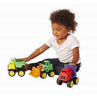 Little Tuffies Trucks: Set of 3