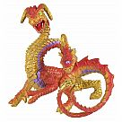 Two-Headed Dragon Figurine