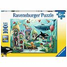 100 Piece Puzzle, Underwater Wonders
