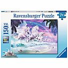 150 Piece Puzzle, Unicorn Beach
