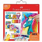 Coloring with Clay: Unicorn and Friends