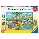 2x24 Piece Puzzle, Welcome to the Zoo