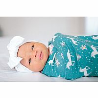 Copper Pearl Knit Swaddle, Whimsy