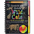 Scratch and Sketch Wild Cats