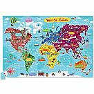 200 Piece Puzzle + Poster, World Cities