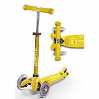 Micro Mini Deluxe Scooter, Yellow