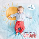 "Lulujo ""You Are My Sunshine"" Baby's First Year Blanket & Cards Set"