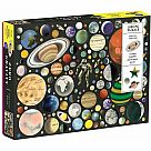 1000 Piece Puzzle, Zero Gravity with Shaped Pieces