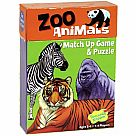 Zoo Animals Match Up Game